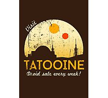 Visit Tatooine Photographic Print