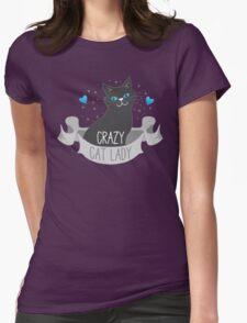 Crazy Cat Lady Banner T-Shirt