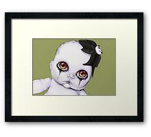 Baby WOOGIE artist Sylvia Lizarraga  Framed Print