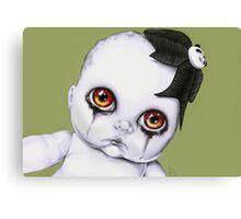 Baby WOOGIE artist Sylvia Lizarraga  Canvas Print