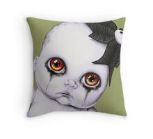 Baby WOOGIE artist Sylvia Lizarraga  Throw Pillow