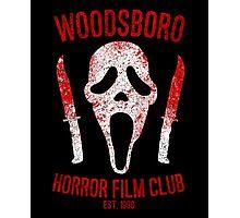 Woodsboro Horror Film Club Photographic Print