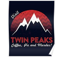 Visit Twin Peaks Poster