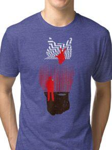 The Spiritual Owl Tri-blend T-Shirt