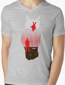 The Spiritual Owl Mens V-Neck T-Shirt