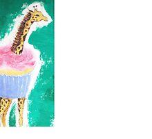 Giraffe Cupcake by TFBARNES