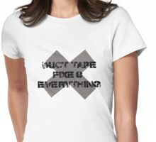 Duct Tape Womens Fitted T-Shirt