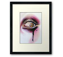 Year Of The Invader oil on wood Sylvia Lizarraga Framed Print