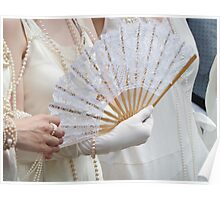 Sophistication, Satin and Pearls  Poster