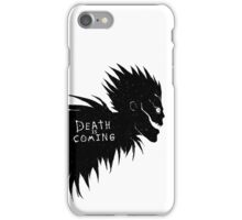Death is Coming iPhone Case/Skin