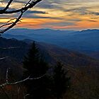 Blue Ridge Mountains Sunset by Eric Albright Photography