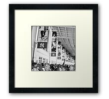 Bunch of Yankees Framed Print