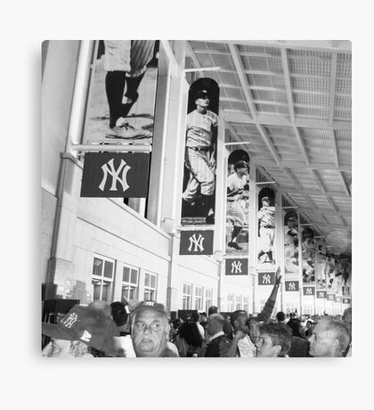 Bunch of Yankees Canvas Print