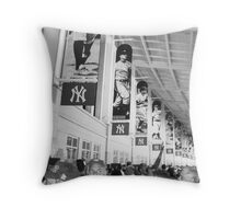 Bunch of Yankees Throw Pillow