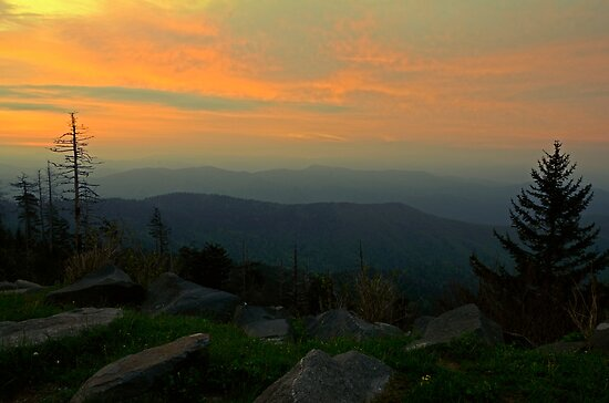Smokie Mountain Dawn by Eric Albright Photography