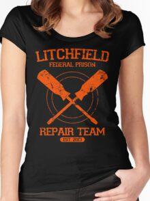 Litchfield Repair Team Women's Fitted Scoop T-Shirt