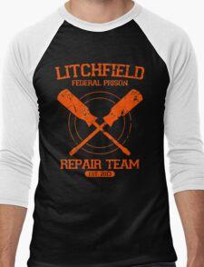 Litchfield Repair Team Men's Baseball ¾ T-Shirt