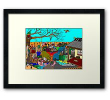 Outback dreaming Framed Print