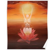 The Lotus Gave Birth To The Sun Poster