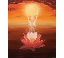 The Lotus Gave Birth To The Sun Photographic Print