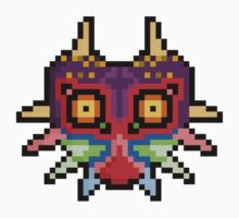 "Pixel ""Majora's Mask"" - Legend Of Zelda by PixelBlock"
