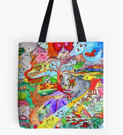 Cyclonic landscape Tote Bag
