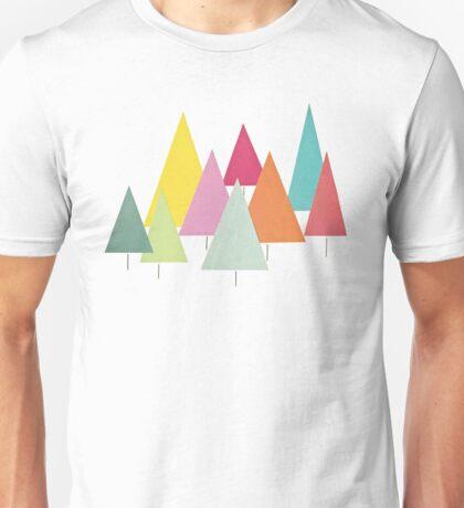 Fir Trees Unisex T-Shirt