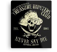 Treasure Hunters Club Metal Print