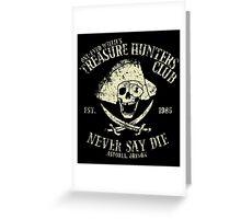 Treasure Hunters Club Greeting Card