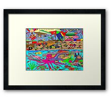 Air, Land and Sea Framed Print