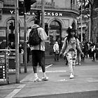Flinders Street dance by David Brewster