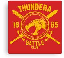 Thundera Battle Club Canvas Print