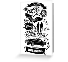 Fam Business Greeting Card