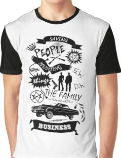 Fam Business Graphic T-Shirt