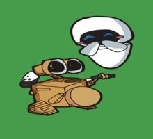 Wall-e sings a two step Baby Tee
