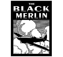 The Black Merlin Spitfire Photographic Print