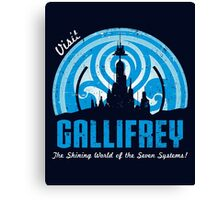 Visit Gallifrey Canvas Print