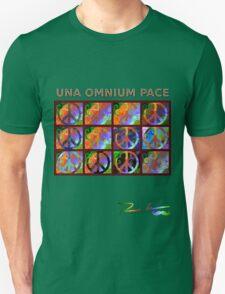 Una Omnium Pace Unisex T-Shirt