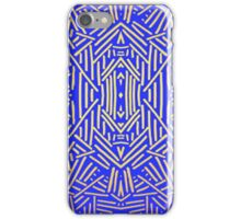 Tribal Blue & Gold - Iphone Case iPhone Case/Skin