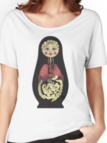Russian doll Women's Relaxed Fit T-Shirt