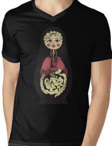 Russian doll Mens V-Neck T-Shirt