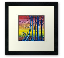 """""""Tales of the Magical Forest"""" from the series """"Freed Landscapes"""" Framed Print"""