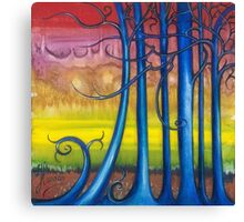 """""""Tales of the Magical Forest"""" from the series """"Freed Landscapes"""" Canvas Print"""