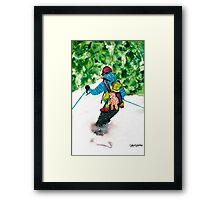 I Love This Ride Framed Print