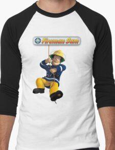 Fireman Sam Men's Baseball ¾ T-Shirt