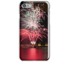 Fireworks over Greenwich iPhone Case/Skin