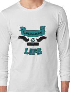 Supernatural is My Life Long Sleeve T-Shirt