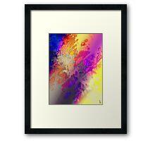 Aura Genesis Framed Print