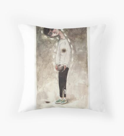 Autumn Sadness Throw Pillow
