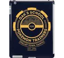 Oak's School for Pokémon Trainers iPad Case/Skin